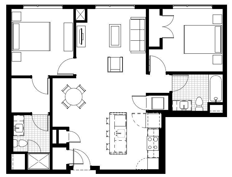 Floorplan F1